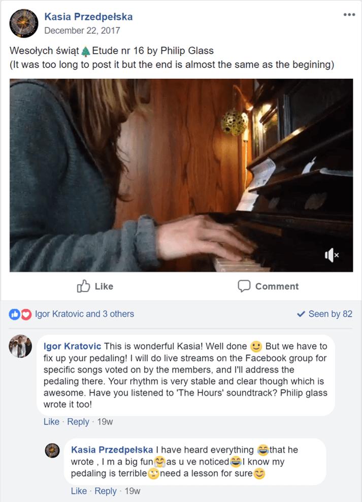 feedback of Igor